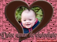 Doce amor de chocolate