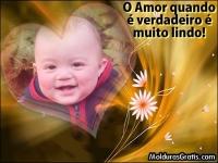 O amor verdadeiro é lindo