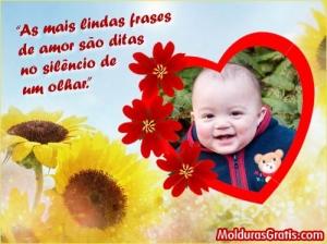 Lindas Frases De Amor Moldura Para Montagem Com Fotos