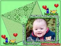 Cartão com foto