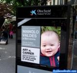 Propaganda na rua