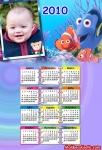 Calendário do peixinho Nemo