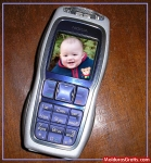 Aparelho celular com foto