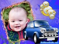 Automóvel azul