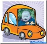 Dentro do carro