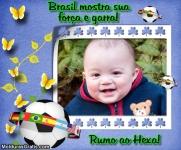 Brasil, mostra sua força e garra