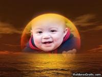 O sol e o mar