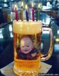 Chopp de aniversário