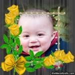 Pérolas e Rosas amarelas