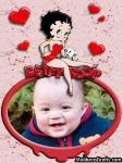 Betty Boop e corações