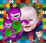 Quebra-cabeça do Barney