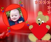 Ursinho com amor