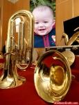 Tuba sinfonica, souzafone e outros instrumentos