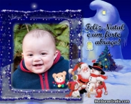 Feliz Natal e um forte abraço