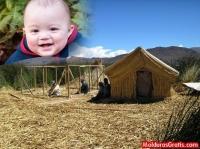 Construção de cabanas