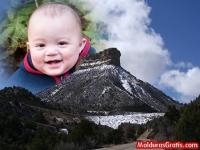 Montanha gelada