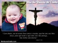 Deus deu seu filho ao mundo para que tenhamos vida eterna