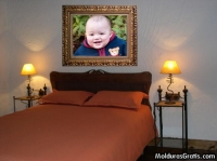 Quadro sobre a cama