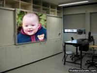 Quadro no escritório de trabalho