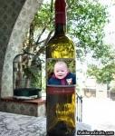 Rótulo da garrafa