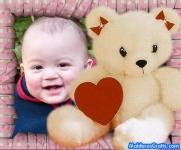 Ursinho com coração